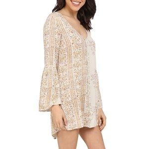 M Billabong Secret Moves Boho Dress